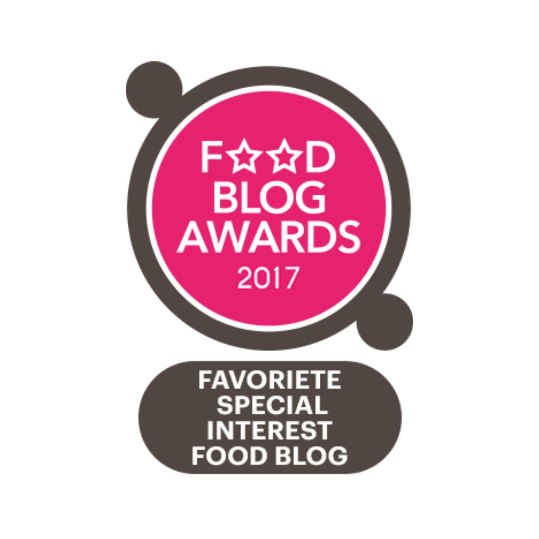 Finalist foodblog awards 2017 healthyfoodie for Cuisine 2017 restaurant awards